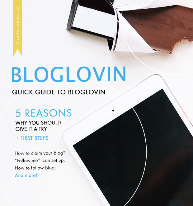 bloglovin - quick guide + tutorials