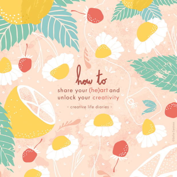 How to share your (he)art and unlock your creativity by Sofia Cardoso for Shibumi Home