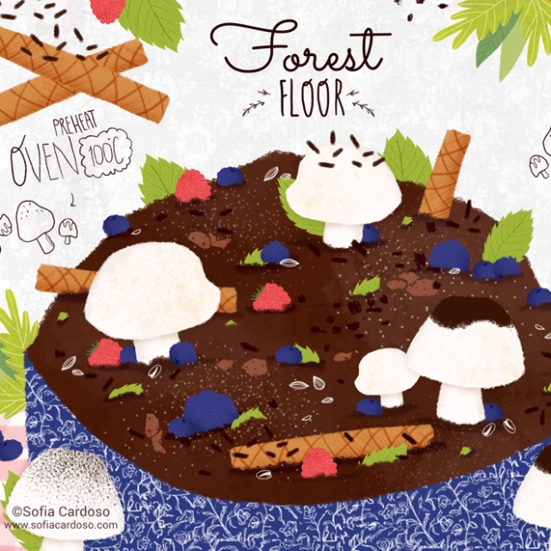 Forest Floor by Sofia Cardoso - They Draw & Cook